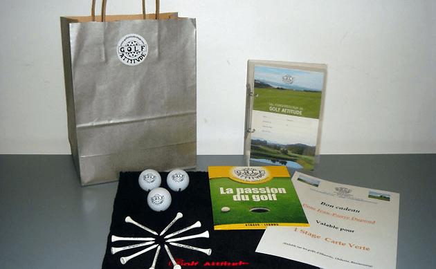 Golf Attitude : packs cadeaux