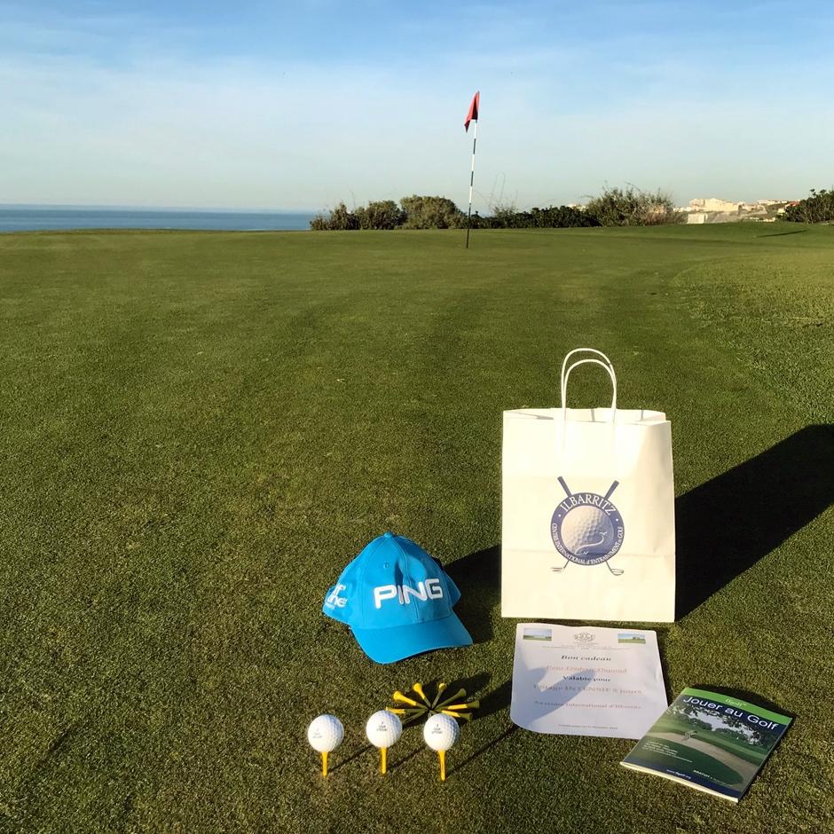 pack cadeau golf attitude : offrez un stage de golf